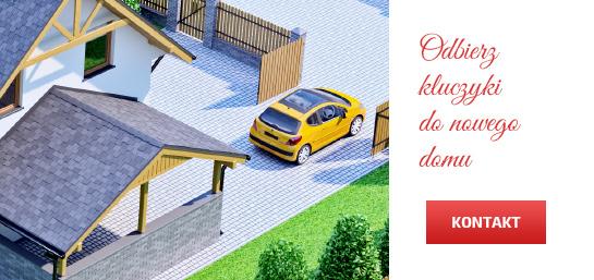 Odbierz kluczyki do nowego domu. Skontaktuj się!